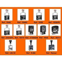 Numeradores metálicos y manuales