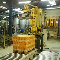 Robotización y célula de paletización