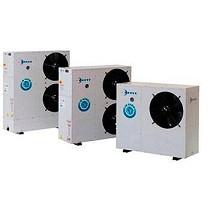 Equipo de aire acondicionado con ventiladores helicoidales