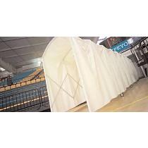 Túneles de protección plegables