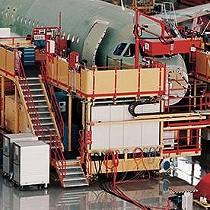 Software para la producción de aviones