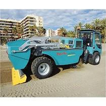 Vehículos para limpieza de playas