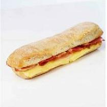 Bocadillos de pan chapata