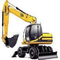 Alquileres de excavadoras de ruedas