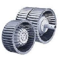Rotores de motor curvados hacia adelante