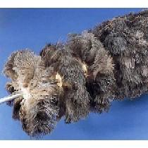 Cepillos cilíndricos de pluma de avestruz