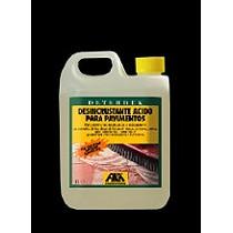 Desincrustante ácido para pavimentos