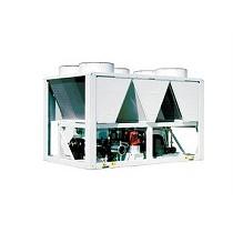 Enfriadoras de agua de condensación por aire con ventiladores axiales