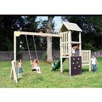 Parques infantiles rústicos