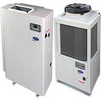 Enfriadoras de agua de condensación por aire