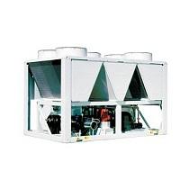 Bombas de calor aire-agua con ventiladores axiales