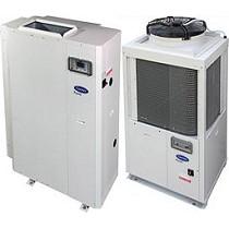 Bombas de calor aire-agua con ventilador potenciado