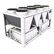 Enfriadoras de agua de condensación por aire con compresor de tornillo