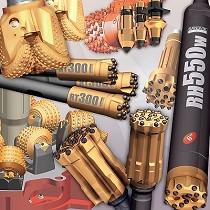 Herramientas y sistemas para minería y construcción