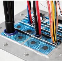 Soluciones de sellado para grandes cantidades de cables