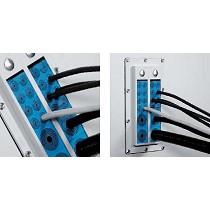 Soluciones de sellado de cables para armarios