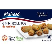 Mini rollitos de primavera