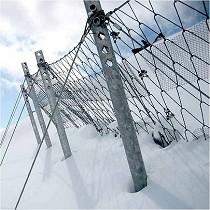 Barreras de protección contra avalanchas