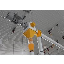 Sistemas de reparto para avícola