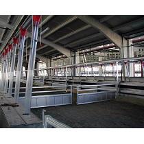 Alojamientos metálicos para ovino