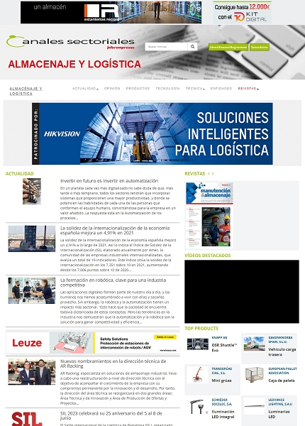 Logística, almacenaje y transporte