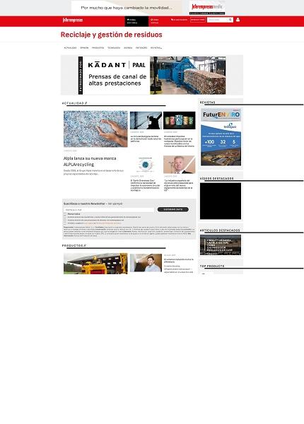 Reciclaje y gestión de residuos