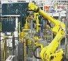 Robot y controlador industrial