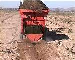 Localizador de abono equipado con topo central