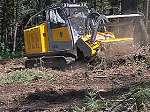 Tractor autopropulsado hidrostático