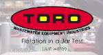 Flotation in a Jar Test by Toro Equipment