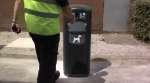 Papelera Retriever City para residuos caninos