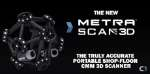 Optical CMM 3D Scanner: MetraSCAN 3D