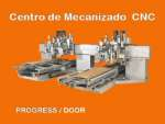 Centro de mecanizado CNC Progress door