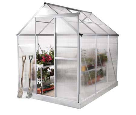 El invernadero de jard n mucho m s que un huerto urbano - Invernadero en terraza ...