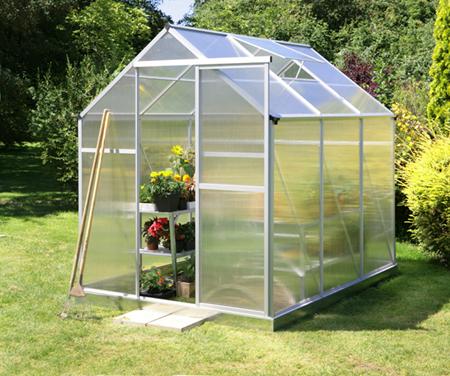El invernadero de jard n mucho m s que un huerto urbano - Muebles con palets como hacer ...