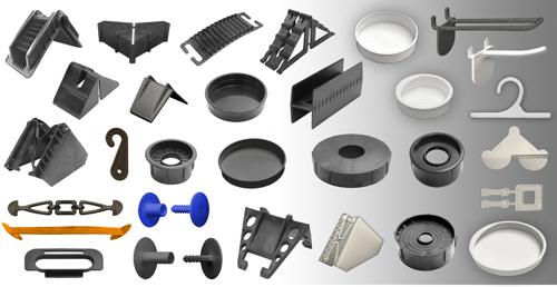 Ital tiene una amplia gama de productos de plástico inyectado para la