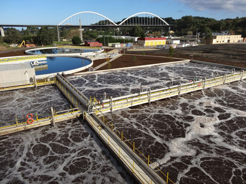 La estaci n depuradora de aguas residuales industriales de for Depuradora aguas residuales