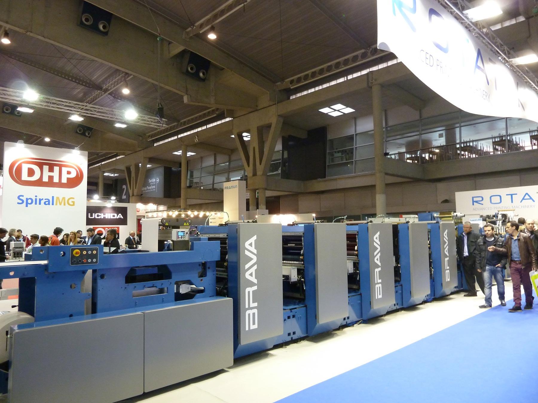 Rotatek lleva su maquinaria pesada a graphispag 2015 industria gr fica - Oficina virtual industria ...
