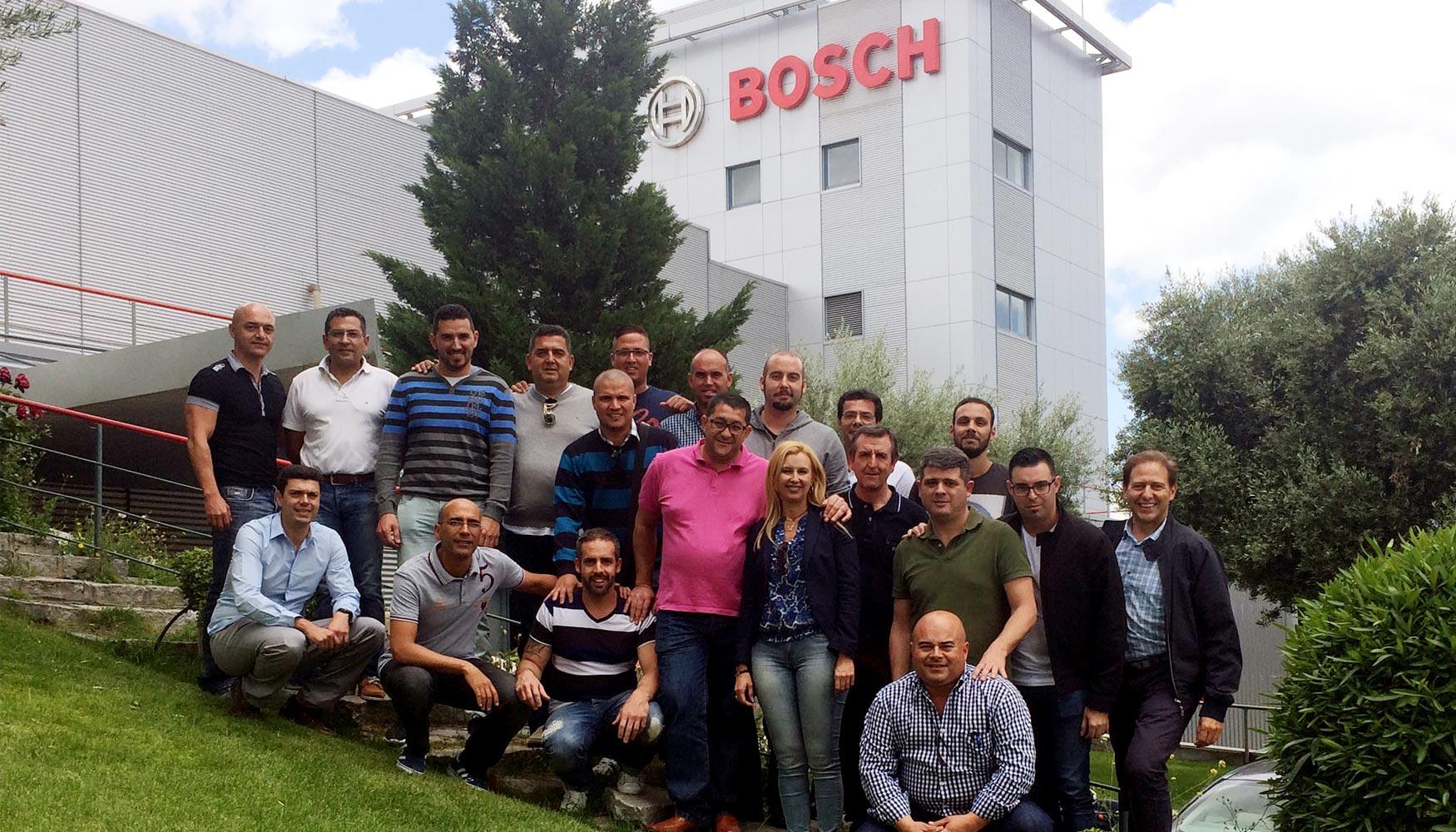 bosch herramientas forma a los responsables de suministros
