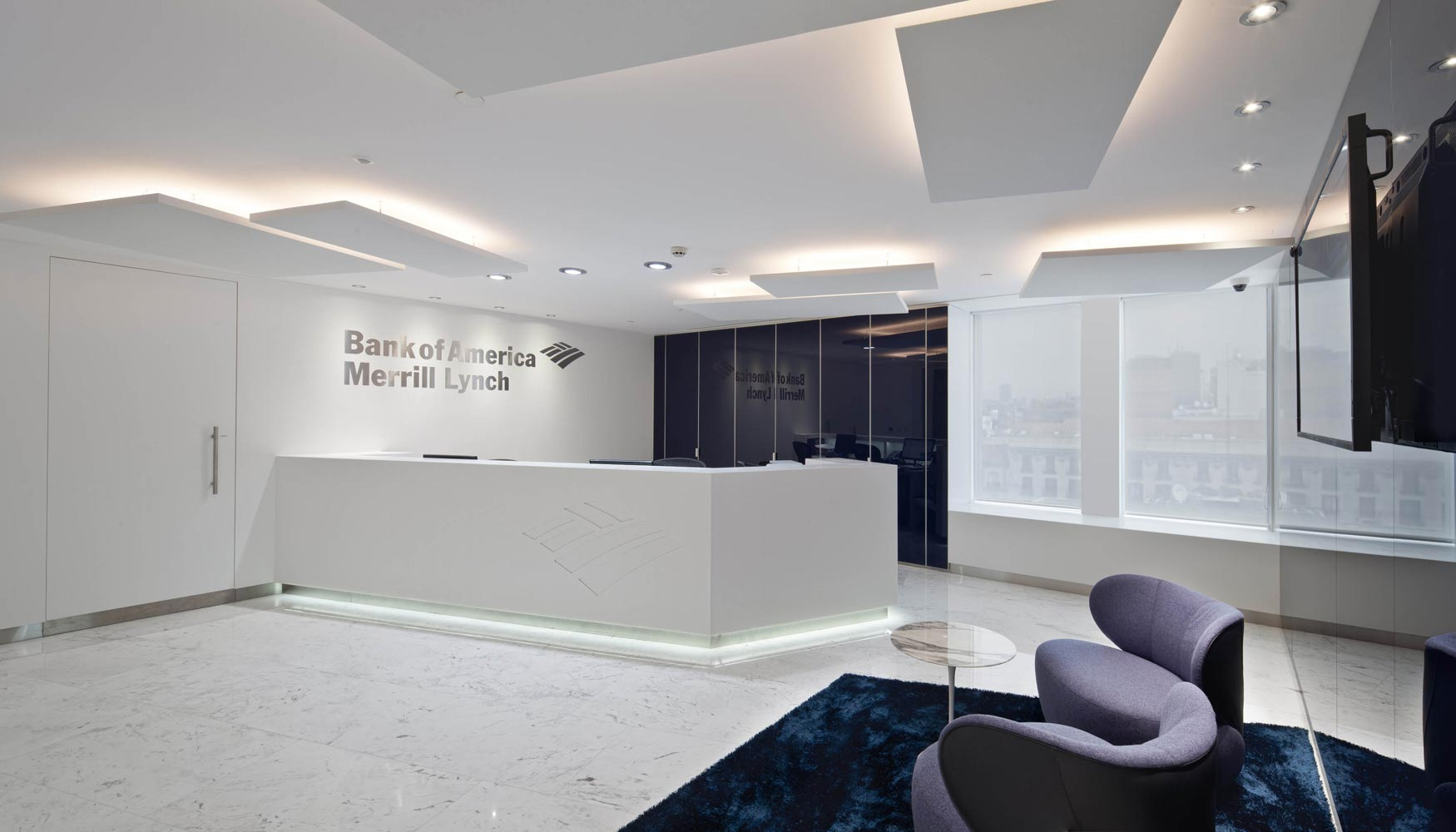 Bank of america merrill lynch traslada su sede en espa a a - Evo bank oficinas ...