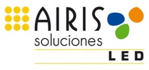 Logo Airis Soluciones LED color