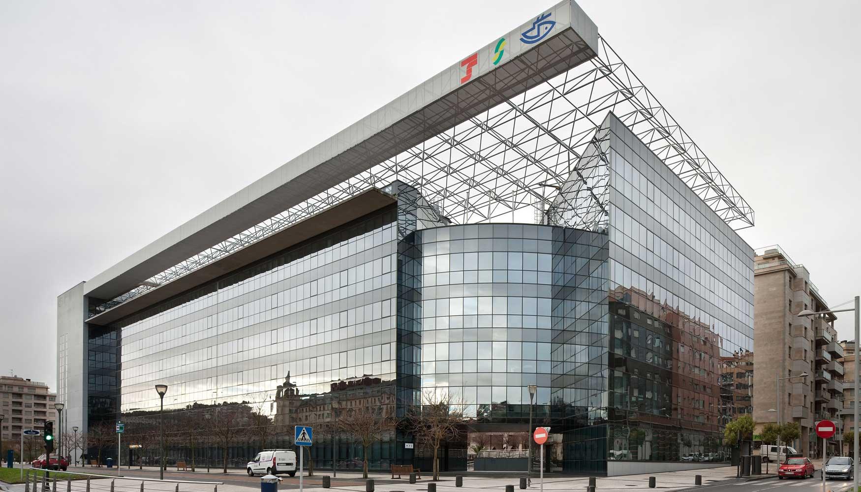 Techos armstrong en las nuevas oficinas de la tesorer a for Oficinas seguridad social bizkaia