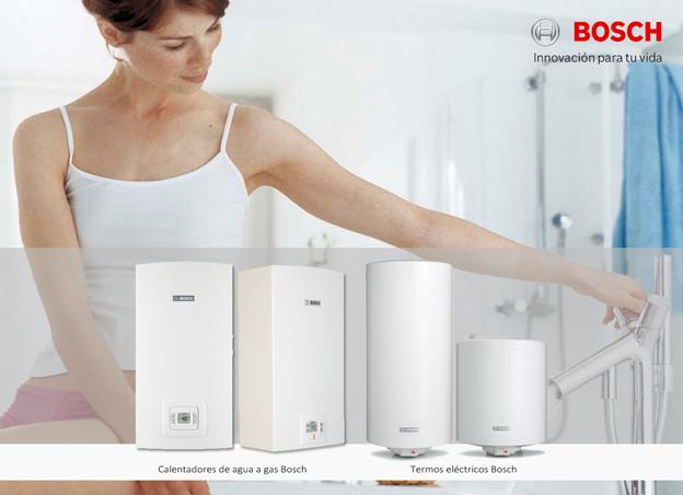 Bosch sigue apostando por el bienestar en el hogar - Calentadores de gas bosch ...
