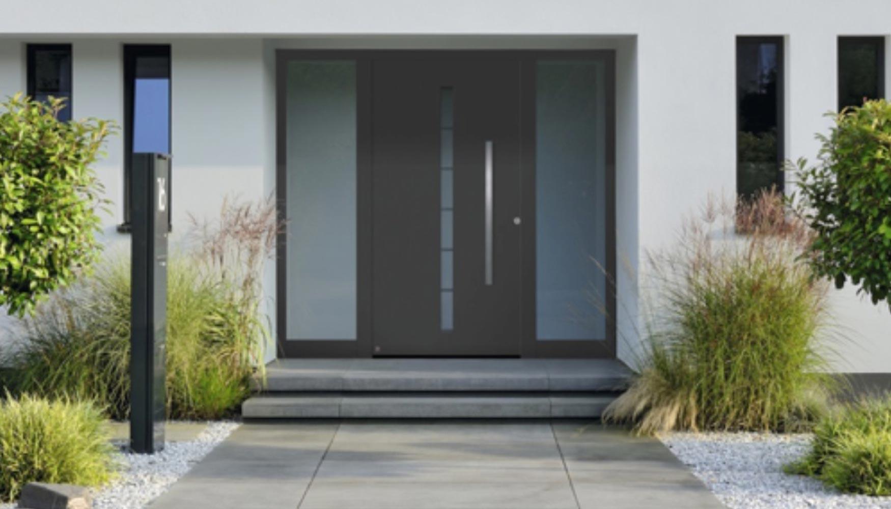 H rmann lanza una promoci n para puertas de entrada for Modelos de puertas de ingreso