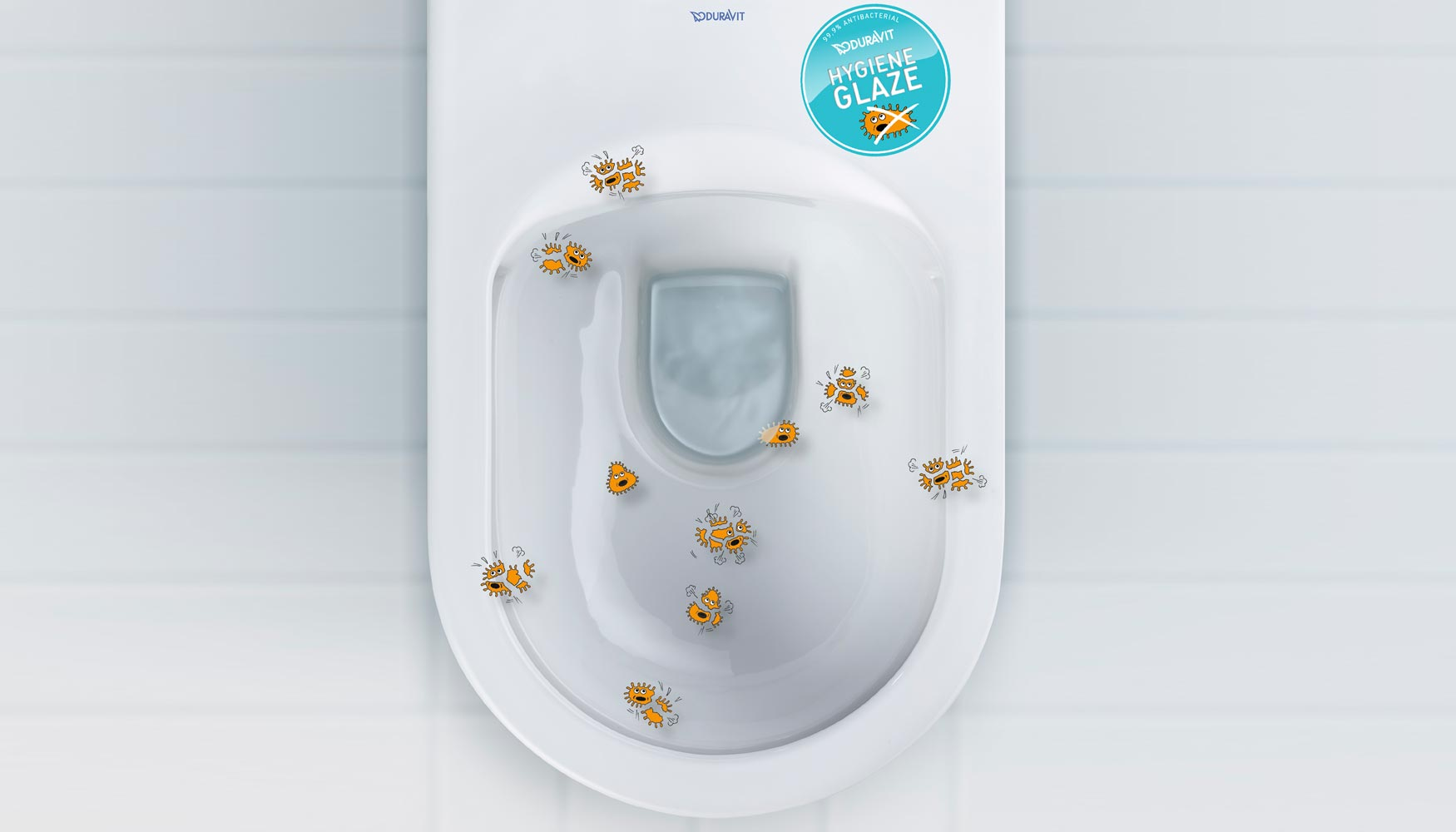 Hygieneglaze De Duravit Combate Los G Rmenes Del Inodoro