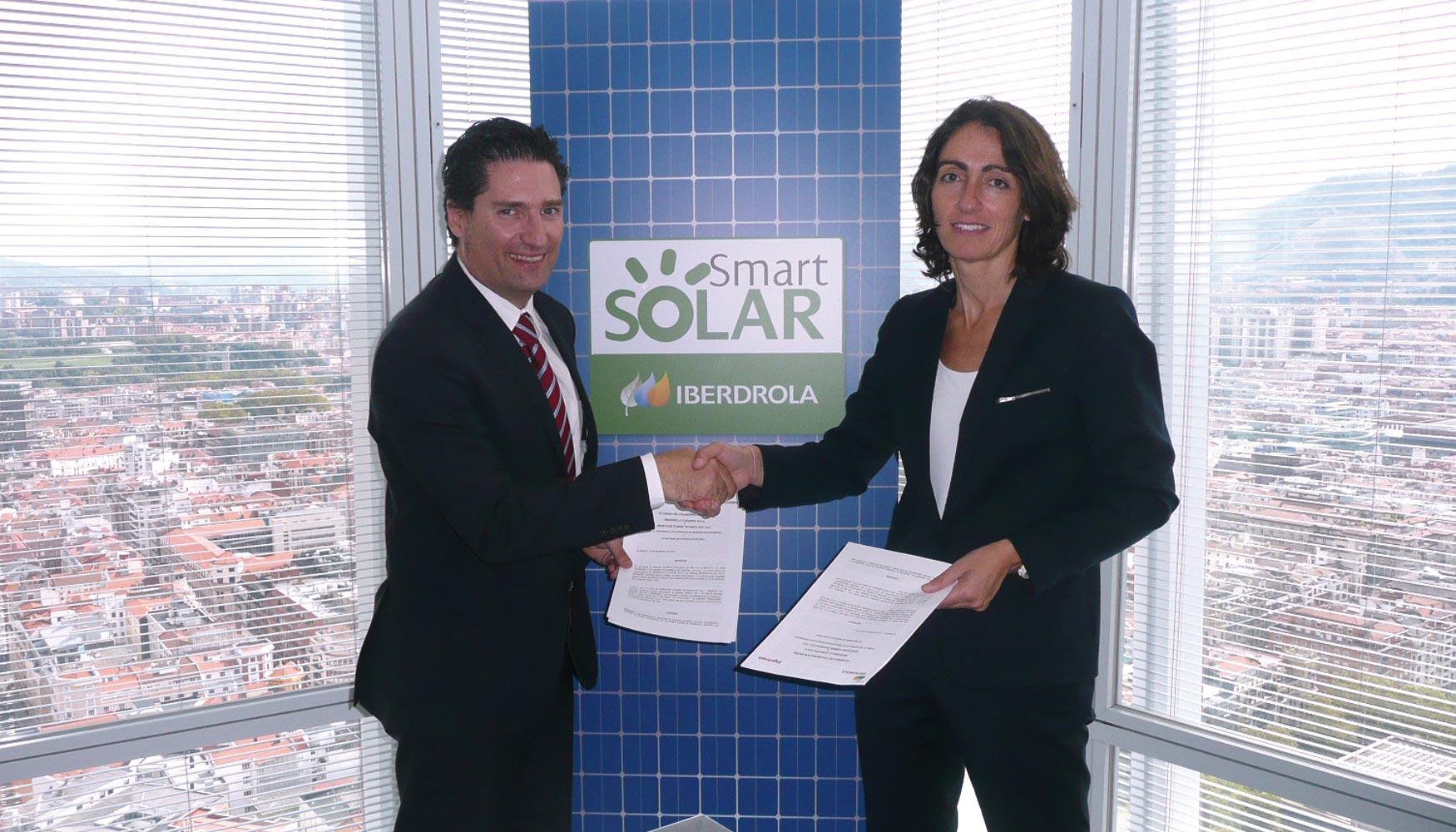 Iberdrola firma un acuerdo con ingeteam para desarrollar for Iberdrola oficina virtual