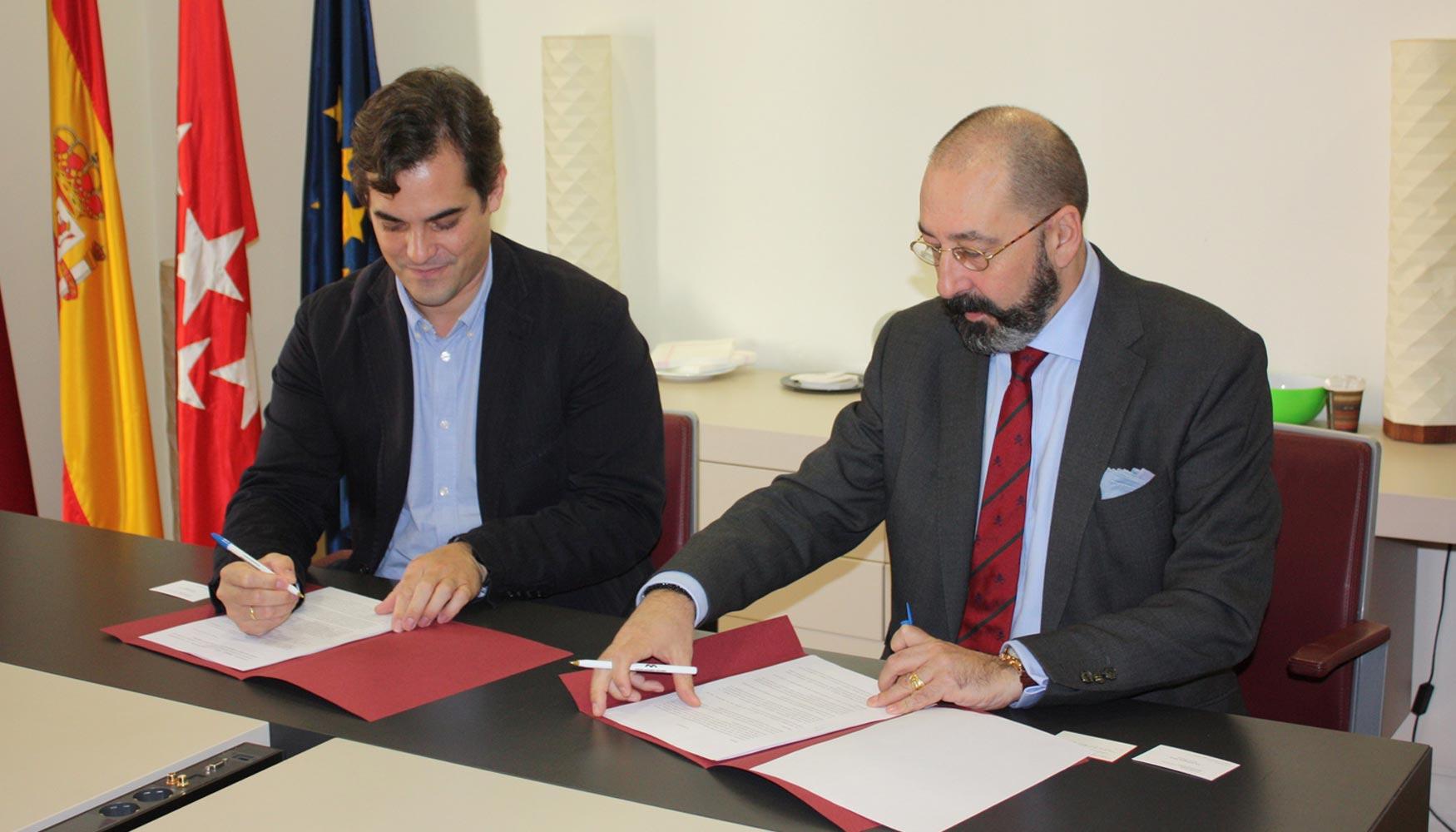 El colegio de aparejadores de madrid y bq firman un - Aparejadores en madrid ...
