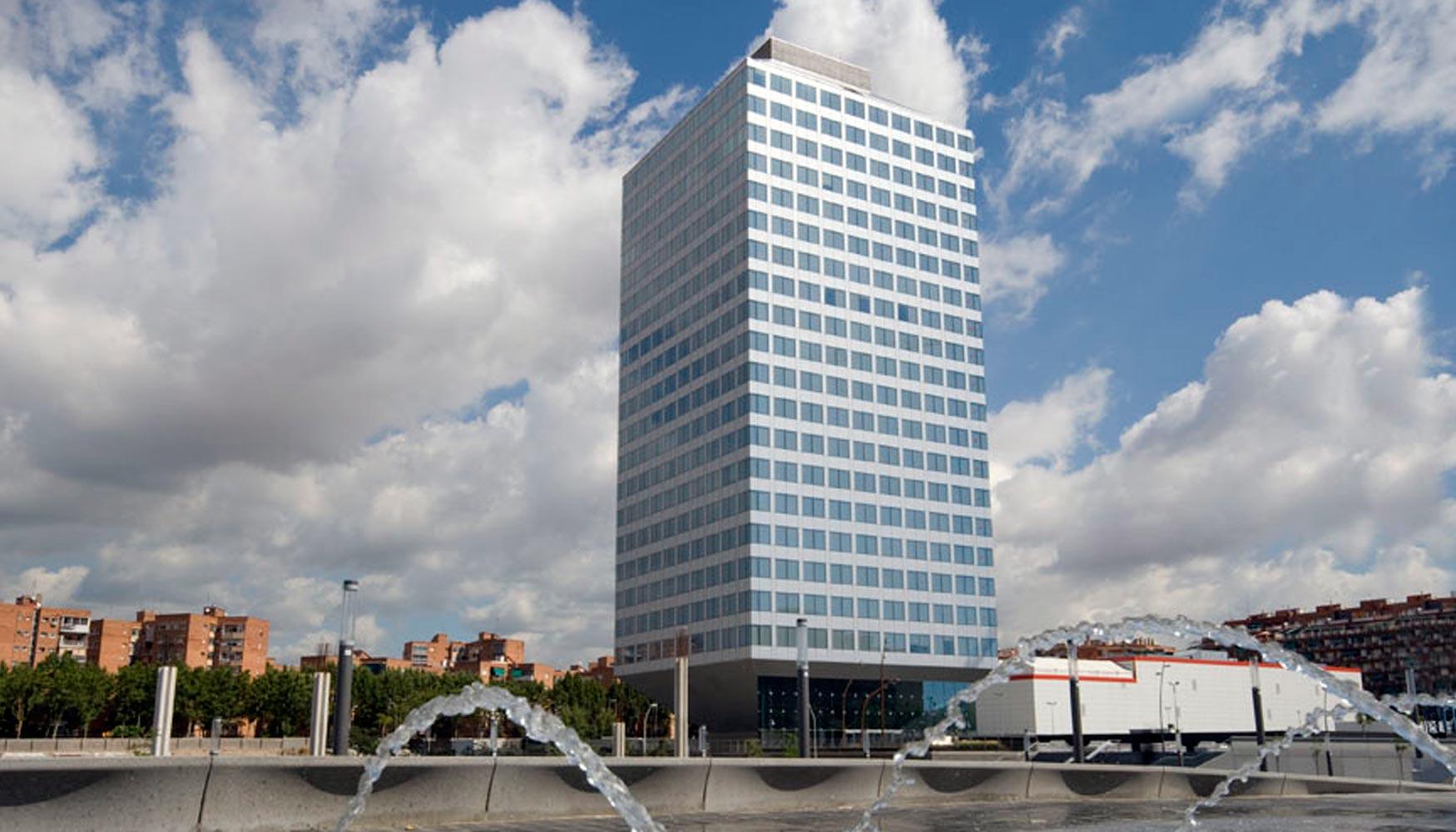 Iberdrola inmobiliaria alquila a asus m de oficinas en el edificio torre auditori - Oficinas de iberdrola en madrid ...
