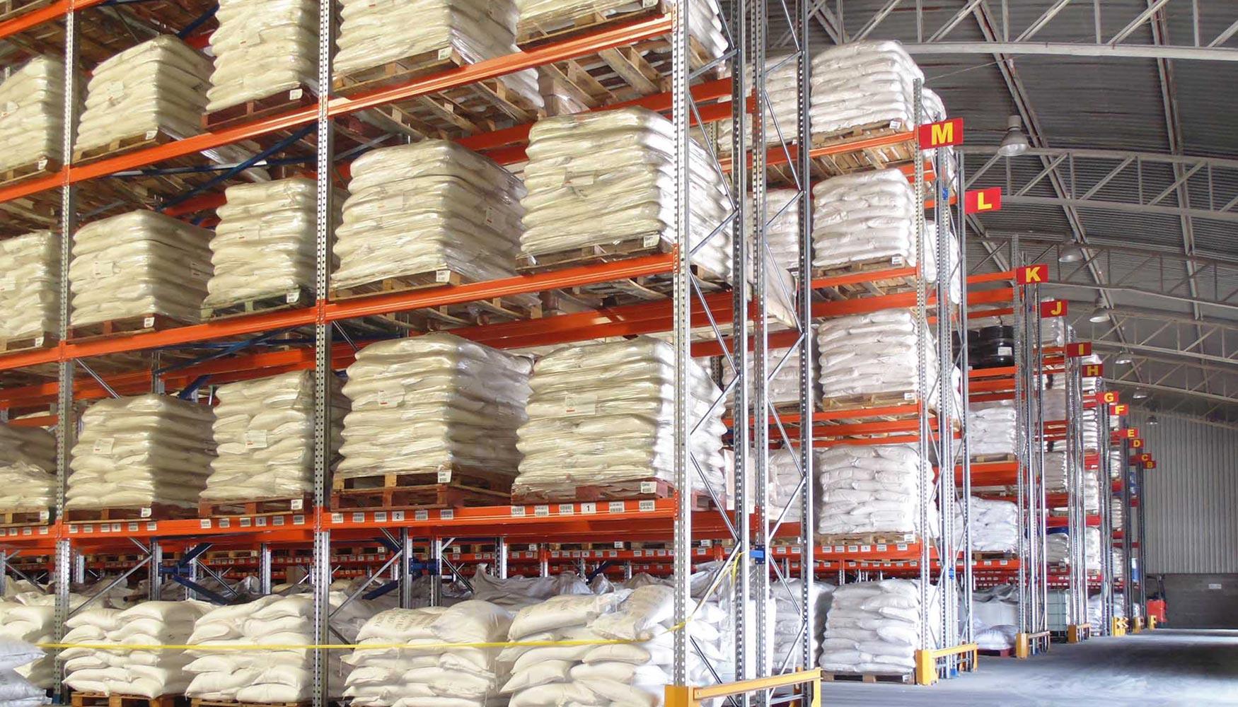 Ar racking instala un sistema de almacenaje para liplata en santiago de chile log stica - Sistemas de almacenaje ...
