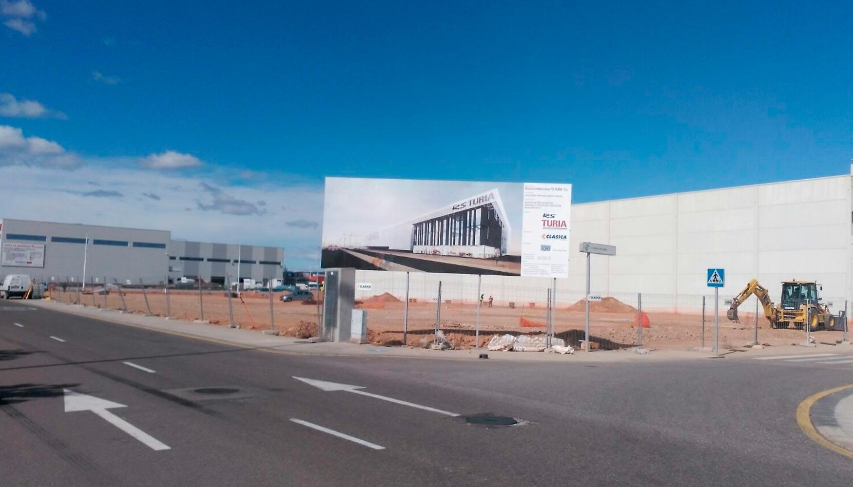 Dos empresas del sector log stico construyen sus naves en - Empresas de construccion valencia ...